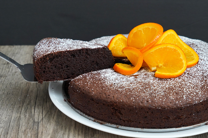 Flourless Chocolate Orange Cake Dessarts