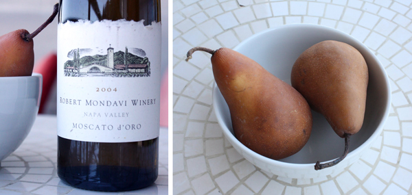 How to Poach Pears in Wine