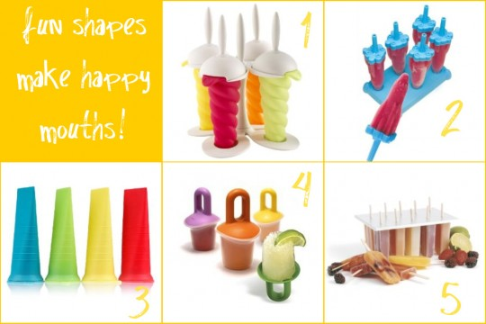 popular ice pop molds