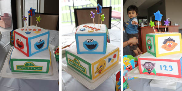 Outstanding Sesame Street Birthday Cake Ideas Dessarts Personalised Birthday Cards Paralily Jamesorg