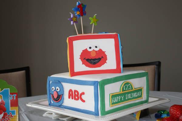 Strange Sesame Street Birthday Cake Ideas Dessarts Personalised Birthday Cards Petedlily Jamesorg