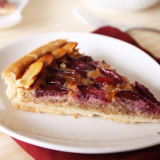 Cherry Tart with Almond Cream