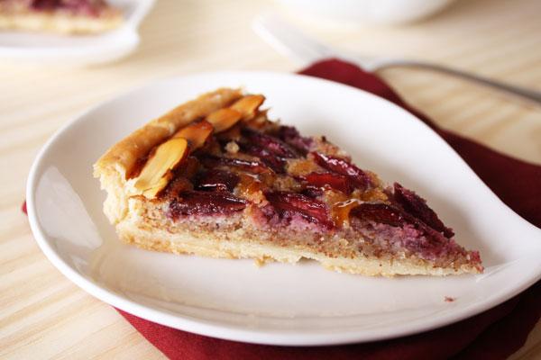 Cherry and Almond Cream Tart