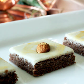 Homemade Chocolate Burfii- an easy to make recipe with regular grocery store ingredients.