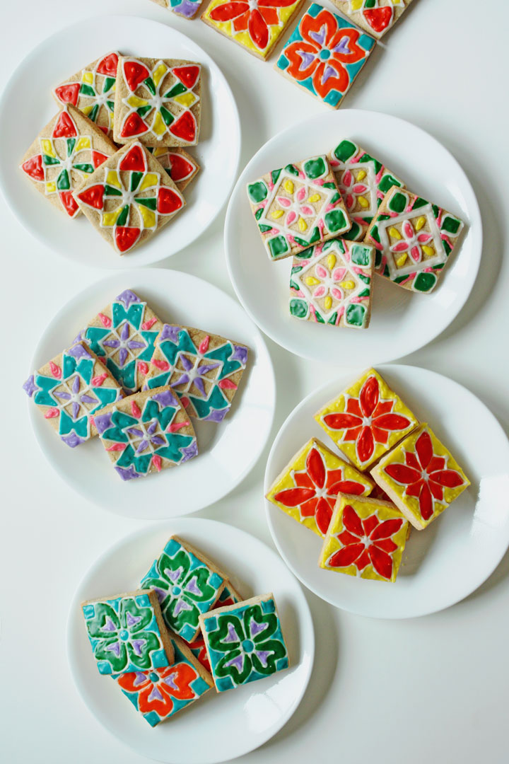 Rangoli Cookies