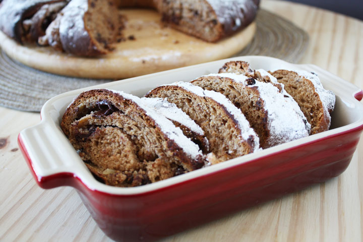 Fig and Chocolate Stollen
