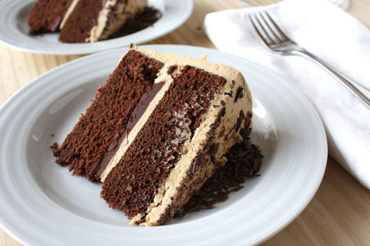 Chocolate Stout Cake- made with a local stout, filled with a chocolate ganache. Top it with a coffee buttercream or just eat the cake alone. Either way, it's delicious!