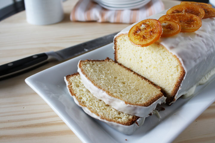 Meyer Lemon Poundcake