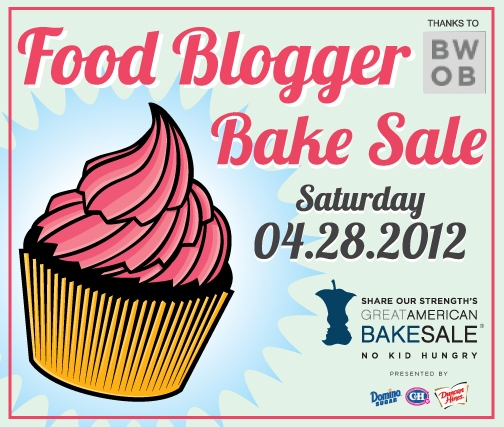 Post image for 2012 Food Blogger Bake Sale