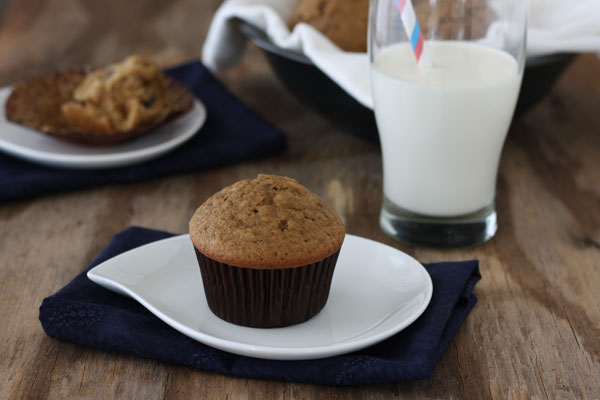Photography Exercise with Espresso Chocolate Chip Muffins | Dessarts