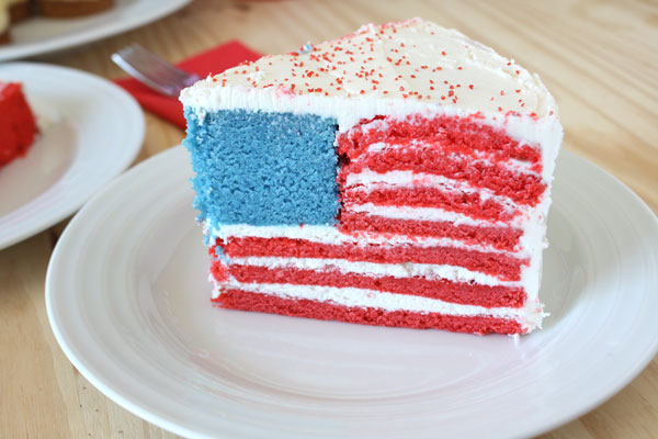 Post image for How To Make A Hidden Flag Cake