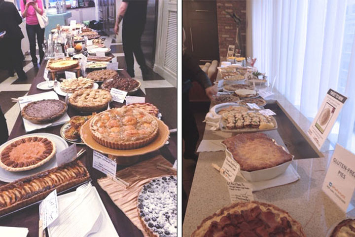 Pies at PiePartyGE