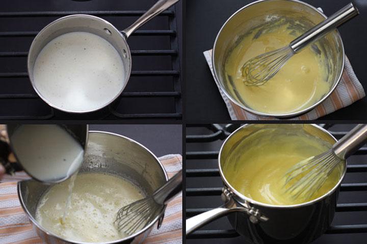 Making pastry cream