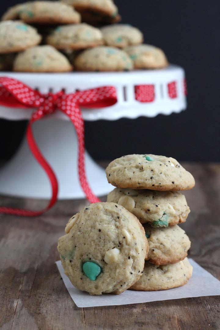 White Chocolate Peppermint Mocha Cookies Recipe