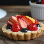 how to glaze a fruit tart