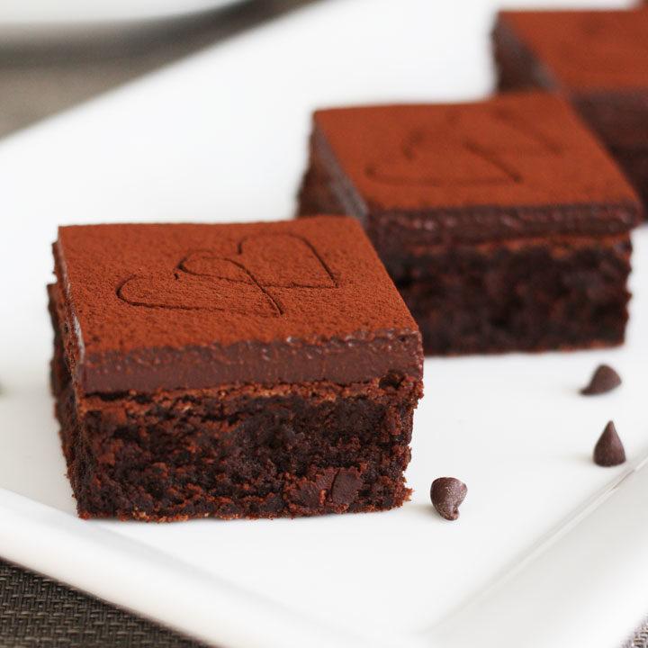 red wine chocolate brownies