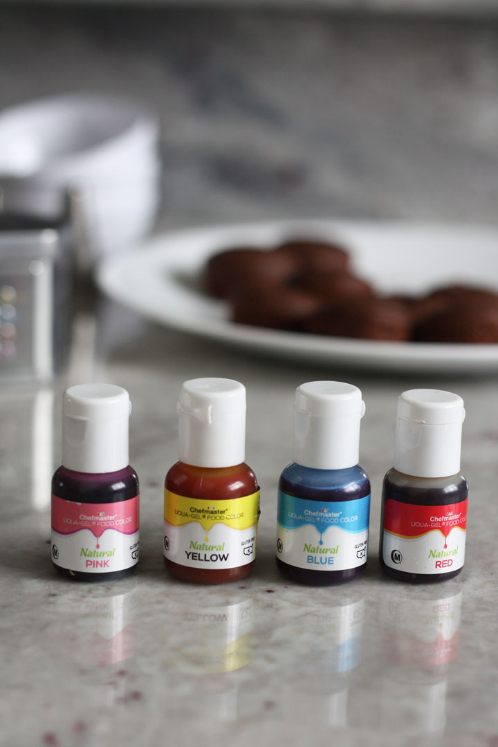 Natural Food Dye Gels from Chef Master