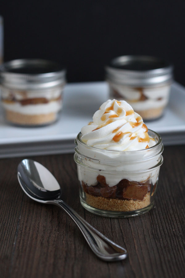 Apple Pie Cheesecake Jars and Pie Problems for Pi Day