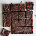 No Bake Healthy Brownie-loaded with superfoods and contain no refined sugar, butter or eggs!