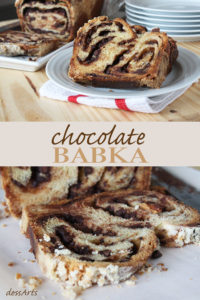 Chocolate Babka is an irresistable yeasted cake filled with chocolate and cinnamon. It takes a bit of time to bake but it is totally worth the wait!