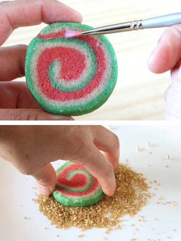 The prices of adding sugar crystals to Christmas Nankhatai Cookies.