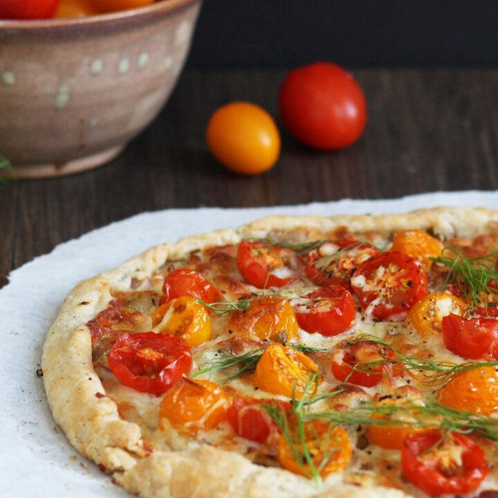 Tomato Fennel Tart