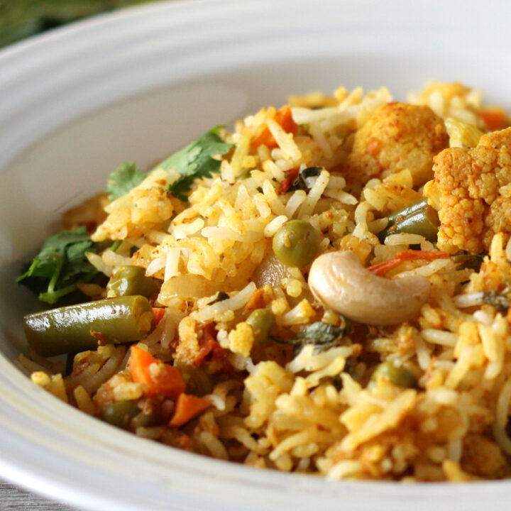 Vegetable Biryani Recipe Dessarts