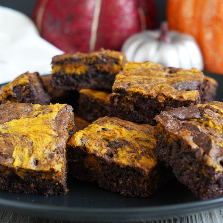 Pumpkin Brookies